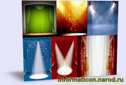Шаблони презентацій театральні